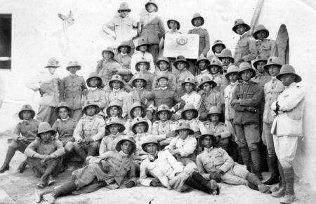 2ndo Cacciatori d'Africa 1924-25 Misurata Marina, Libia