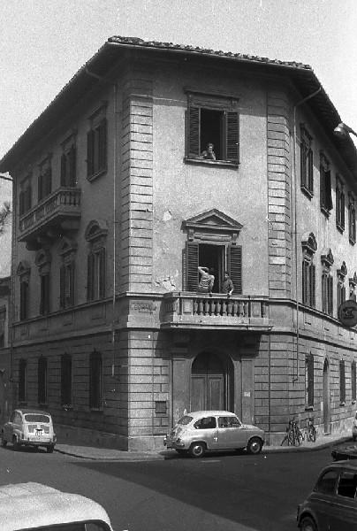Pensione  Part... Firenze, maggio 1965