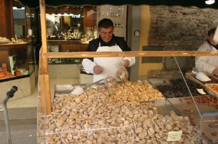 Venditore romagnoli di fichi secchi
