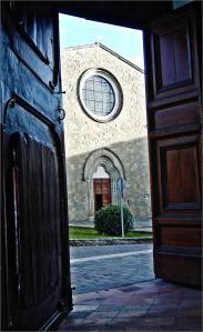 San Francesco visto dalla Madonna delle Grazie, foto di Ademo Pasquetti