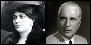 Luisa Spagnoli e Giovanni Buitoni