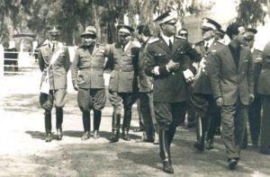 Tripoli, (XV EF) visita del principe Umberto