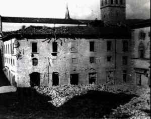 Macerie della Torre di Berta crollata
