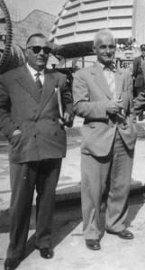 fine anni '50, Renato e Dario alla Fiera Campionaria di Milano