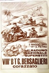 Locandina del Raduno del 1968