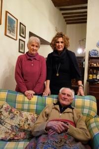 Rita, Alessandra e FernandoSansepolcro, 6 dic. 2012
