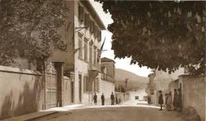Via Anconetana, andando verso Pampanone
