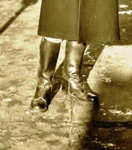 stivali polacchi, li indossavo quando sono arrivato a Boston nel 1969
