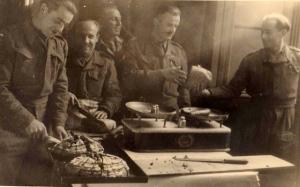 Forse la festa di Natale 1944 dei polacchi al Circolo delle Civiche Stanze