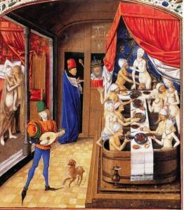 bagni pubblici medievali
