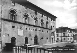 Sansepolcro Palazzo della Pretura circa 1965