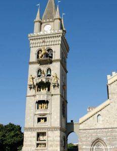 l'orologio del campanile di Messina