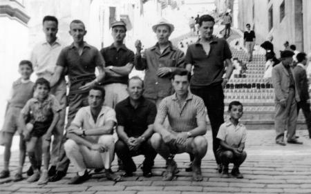 Borghesi a Caltagirone, luglio 1962