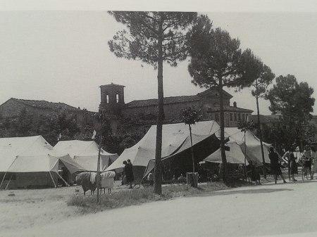 terremoto del 1948, tendopoli fuori Porta Fiorentina