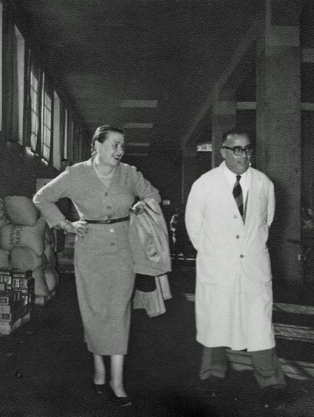 la Sora Tina Buitoni e Renato Braganti