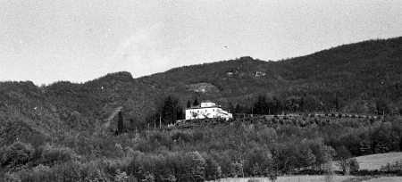 La Grillaia, dove abitava la Sora Dina, moglie del Sor Gherardo.