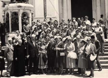 1954 gita a Loreto