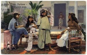 cartolina coloniale