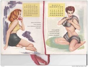 calendario profumato del barbiere