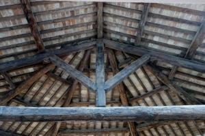soffitto dell'abside della Chiesa degli Agostiniani a Sansepolcro