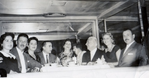 fine anni '50 cena a New York